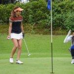 コロナ ゴルフ女子